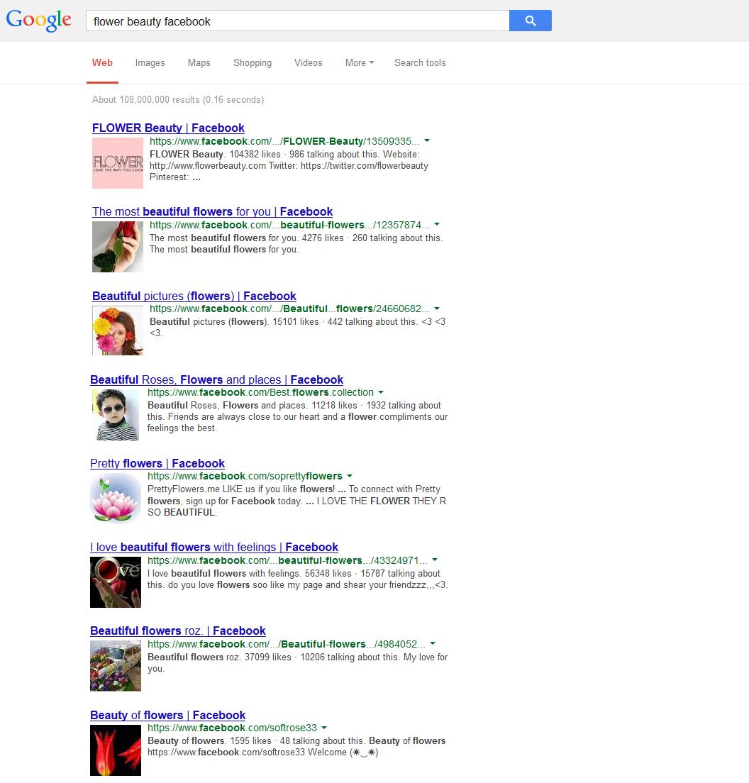 Новий SERP Google